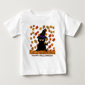 Spooky Kitty Witch Tees
