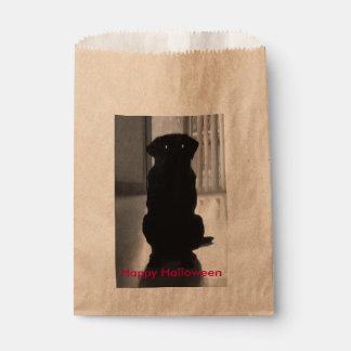 Spooky Labrador Halloween Gift Bag Favour Bags