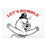 Spooky Lets Rumble Personalized Announcement