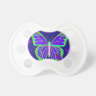 Spooky Luminous Butterflies By Sharles Art Baby Pacifiers
