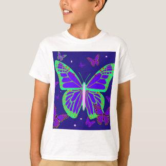 Spooky Luminous Butterflies By Sharles Art T-Shirt
