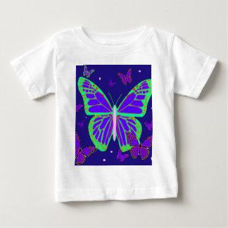 Spooky Luminous Butterflies By Sharles Art Tee Shirt