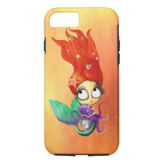 Spooky Mermaid with Octopus iPhone 8/7 Case
