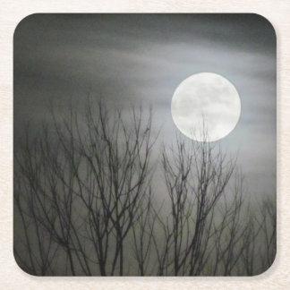 Spooky Moon Coaster
