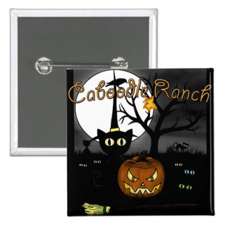 'Spooky Night' Pinback Button