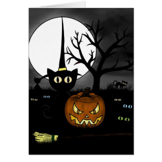 'Spooky Night' Card