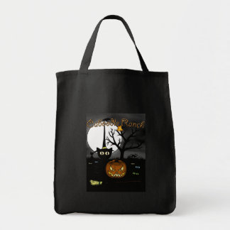 'Spooky Night' Grocery Tote Bag