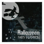 Spooky Night Halloween Party Invitation
