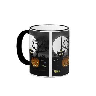 'Spooky Night' Ringer Mug