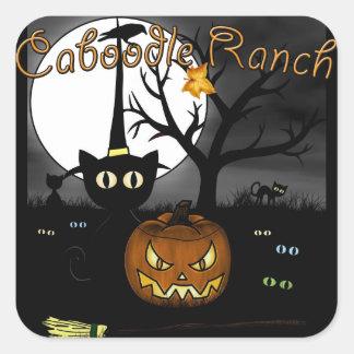 'Spooky Night' Square Sticker