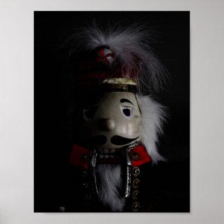 Spooky Nutcracker Poster