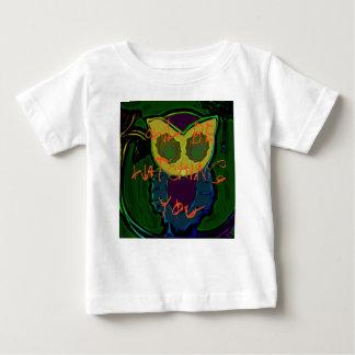 Spooky Owl Baby Tee
