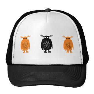 Spooky Owl Trucker Hats