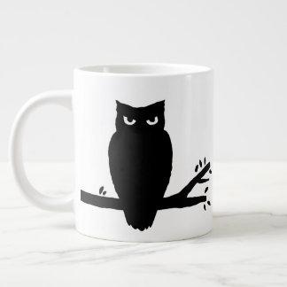 Spooky Owl Silhouette Large Coffee Mug