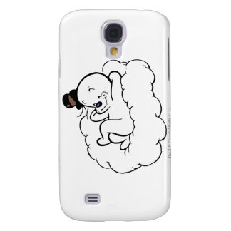 Spooky Relaxing On Cloud Galaxy S4 Case