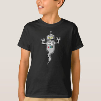 Spooky Robot Ghost Tshirt