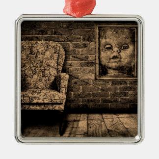 Spooky room. christmas ornament