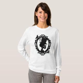 Spooky Skull In Frame Women's Long Sleeve T T-Shirt