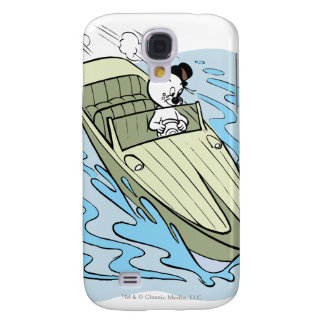 Spooky Speedboat Galaxy S4 Case