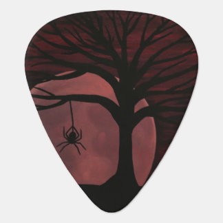 Spooky Spider Guitar Pick