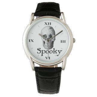 Spooky White Skull Halloween Fashion Watch