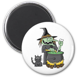 Spooky Witch Magnets
