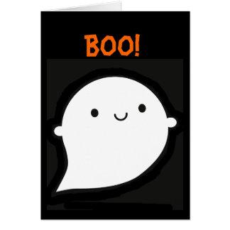 Spooky Wooky Halloween Ghost Card