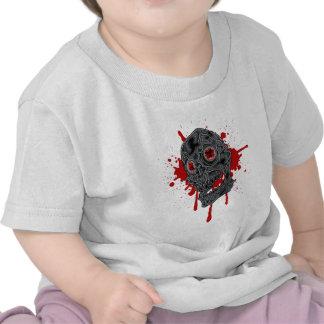 Spooky Yet Goofy Drip Skull design Tees