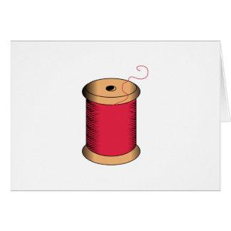 Spool of Thread Greeting Card