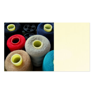 Spools of Yarn Pack Of Standard Business Cards