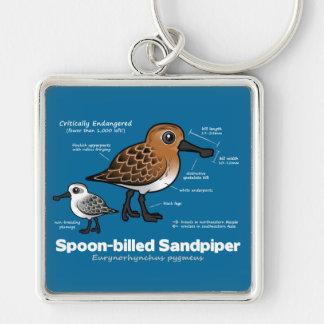 Spoon-billed Sandpiper Statistics Key Ring