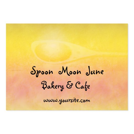 Spoon Moon June Business Card