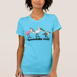 Spoonbills Rock! T-Shirt