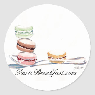 Spoonful of Macarons stickers