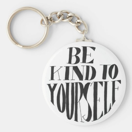 Spoonie-Be Kind to Yourself keyring-ChronicIllness Key Ring