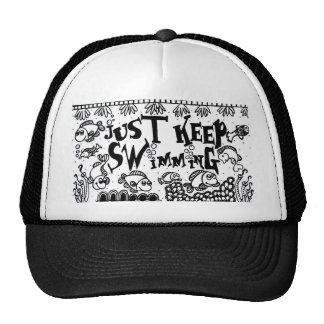 Spoonie-Just Keep Swimming-Chronic Illness Cap