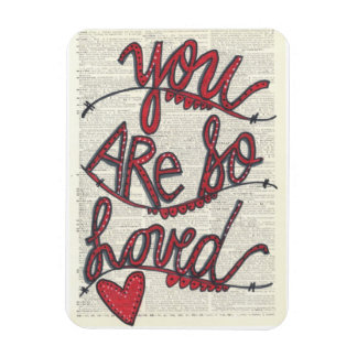 Spoonie-You Are So Loved magnet-Chronic Illness Rectangular Photo Magnet