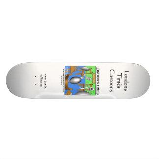 Spoons Who Never Fork Funny Skateboards