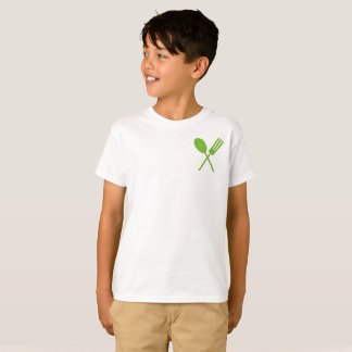 Spork Foodie Green Small T-Shirt