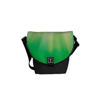 Sport, american football with water splash messenger bag