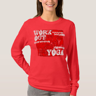 Sport and yoga workouts. T-Shirt