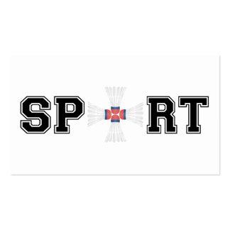 Sport (Badminton) Pack Of Standard Business Cards