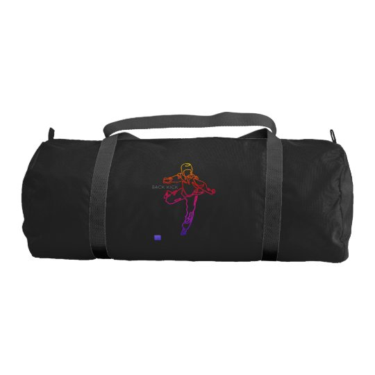 Sport bag TAEKWONDO DWICHAGI back kick 02