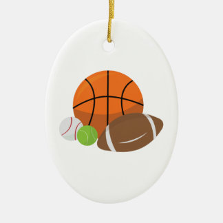 Sport Balls Christmas Ornament