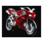 Sport Bike Racing Motorcycle Flyer Design