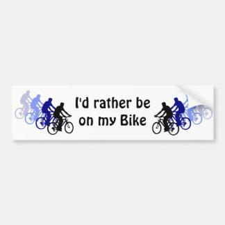 Sport - Biking, Cycling, Bike Bumper Sticker