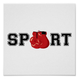 Sport (Boxing) Poster
