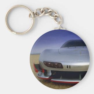 Sport car - HSR II Basic Round Button Key Ring