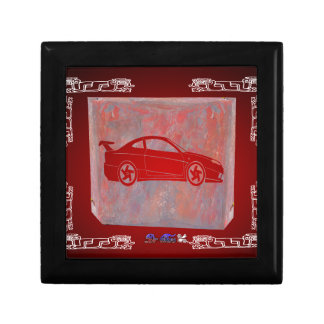 SPORT CAR RED CUSTOMIZABLE PRODUCTS GIFT BOX