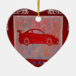 SPORT CAR RED CUSTOMIZABLE PRODUCTS ORNAMENT